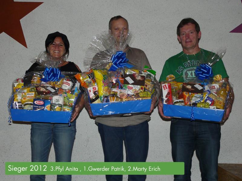 Preismeisterschaft mit offener Ansage 2012